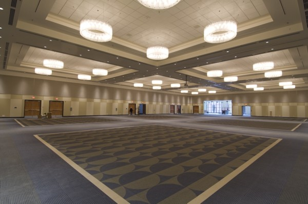 Vancouver Island Conference Centre - Acousti-trac upper wall acoustic panels