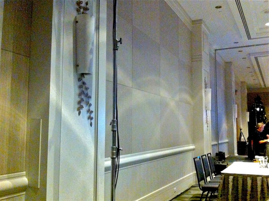 Fairmont Waterfront Ballroom Vancouver BC. : Acousti-trac - Fairmont Waterfront Ballroom renovation.